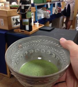 My favorite matcha green tea
